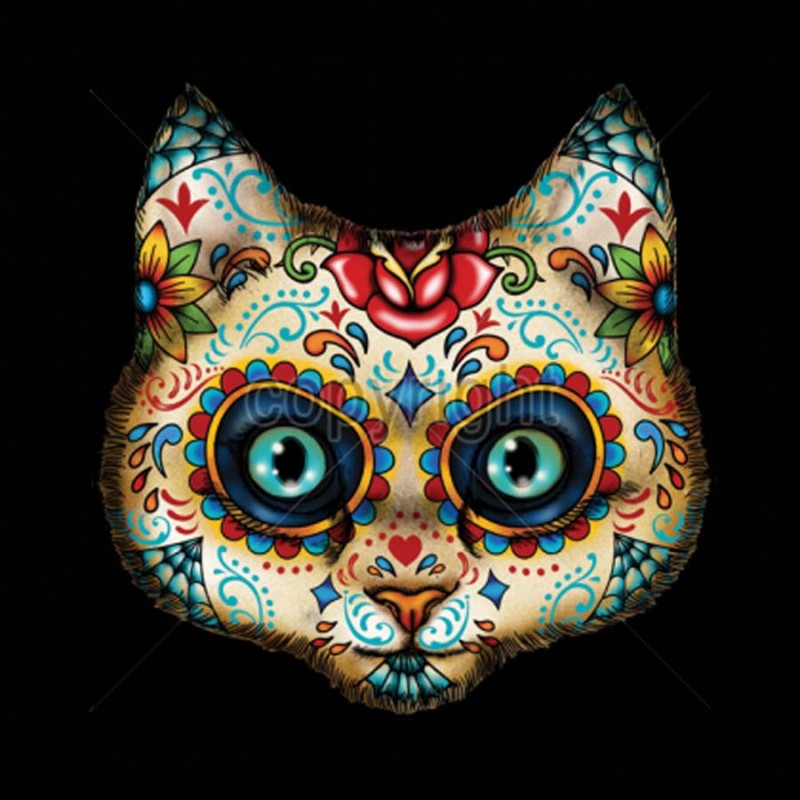 Day Of Dead Cat