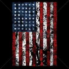 Distressed American Flag