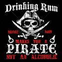 Drinking Rum Pirate