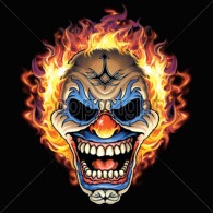 Flaming Clown