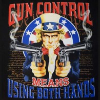 Gun Control Use Both Hands