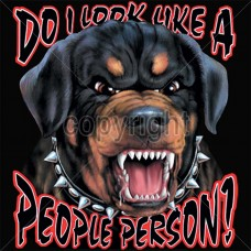 People Person Rottweiler