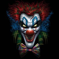 Psycho Clown Face