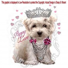 Rhinestone Cute Puppy