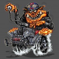 Hot Rod Hog Monster