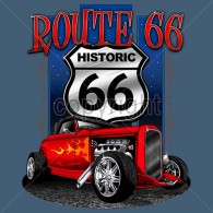 Route 66 Hot Rod