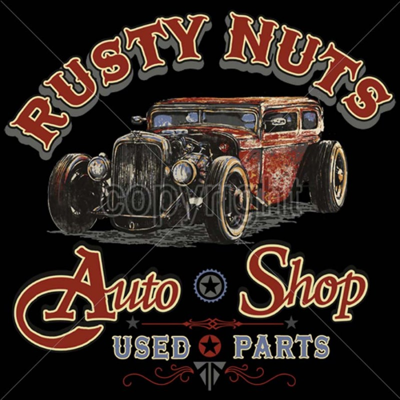 Rusty Nuts Hot Rod
