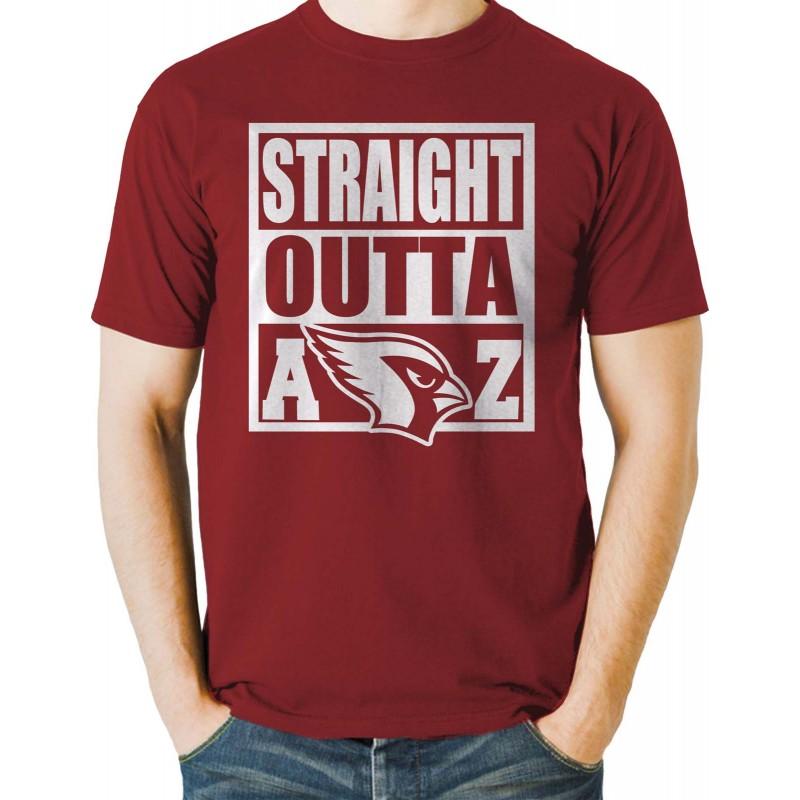 straight outta arizona cardinals shirt