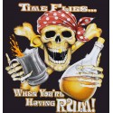 Time Flies When Drinking Rum Pirates