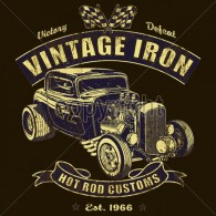 Vintage Iron Hot Rod
